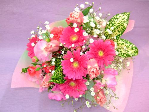 春っぽい花束